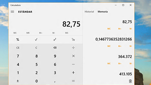 novedades de la calculadora en windows 10